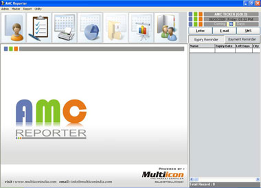 AMC is powerful software for smooth management of your service contracts.
